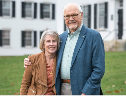 The new center is named in honor of President Emeritus James Wright and Susan DeBevoise Wright. (Photo by Ryan Bent Photography)