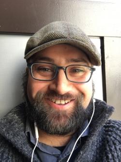 Headshot image of Cyrus Farivar